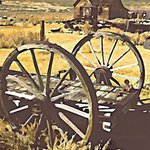 wagon wheels 1 By Steve Tohari