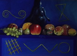 Andrea Zucca Artwork great mother, 2015 Oil Painting, Still Life
