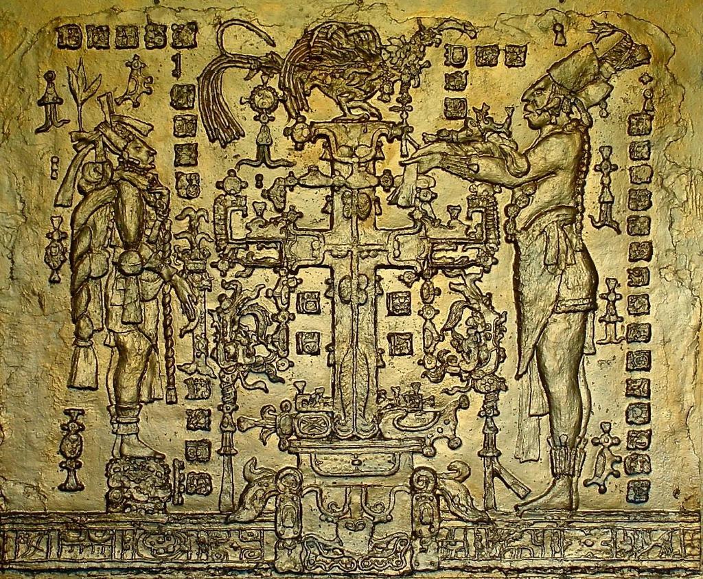 Sigmund Sieminski Artwork Mayan Temple of the Cross   Original Bas Relief   Other Art & Sigmund Sieminski Artwork: Mayan Temple of the Cross   Original Bas ...