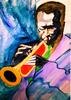 Barry Boobis - Miles Davis painting artwork Birth of the Cool, Music