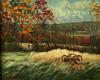 Judith Fritchman - Autumn Valley View , Landscape