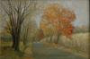 Judith Fritchman - Road Home in Autumn, Landscape