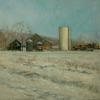 Judith Fritchman - Winter at Lindsays Farm, Landscape
