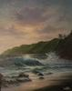 Joseph Porus - Sunset over Kauai, Seascape