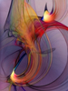 Karin Kuhlmann - Joyful Leap Fine Art Print , Abstract