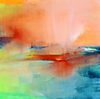 Leyla Murr - Yellowstone , Abstract Landscape