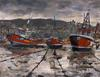 Randy Sprout - Staithes Low Tide, Boating