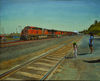 Thu Nguyen - Passing Train, Figurative