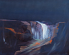 Nicholas Down - FallingWater, Abstract Landscape