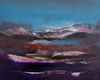 Nicholas Down - Far Mountain, Abstract Landscape