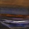 Nicholas Down - Long After Dusk, Abstract Landscape