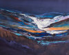 Nicholas Down - Meltwater, Abstract Landscape