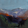 Nicholas Down - Revealing the Mountain, Abstract Landscape